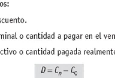 Descuento Matemático