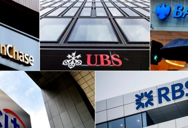 5 bancos culpables de manipular el mercado de divisas